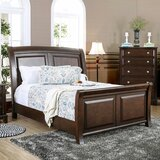 Harvell Sleigh Bed by Red Barrel Studio®