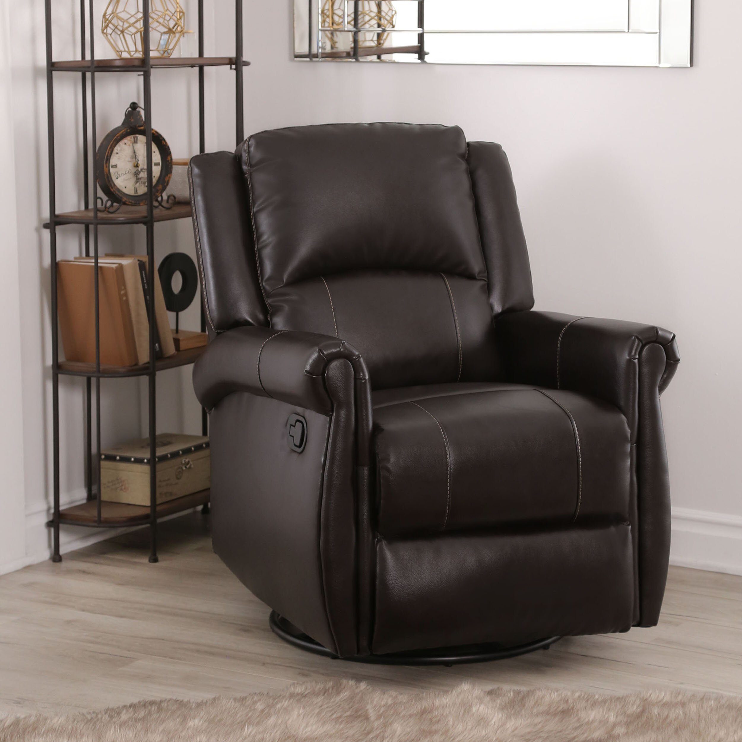 Darby Home Co Darby Reclining Glider Reviews Wayfair