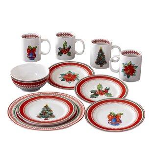 Grimaldi 16 Piece Dinnerware Set, Service for 4