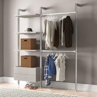 Relax 189cm Wide Clothes Storage System By Space Pro