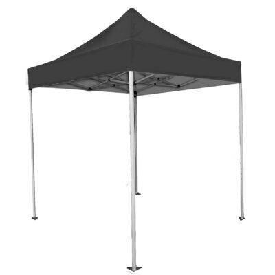 Laguna Canopy 15 Ft. W x 10 Ft. D Steel Pop-Up Canopy Colour: Black