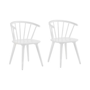 Paylag Solid Wood Dining Chair (Set Of 2) By Ebern Designs