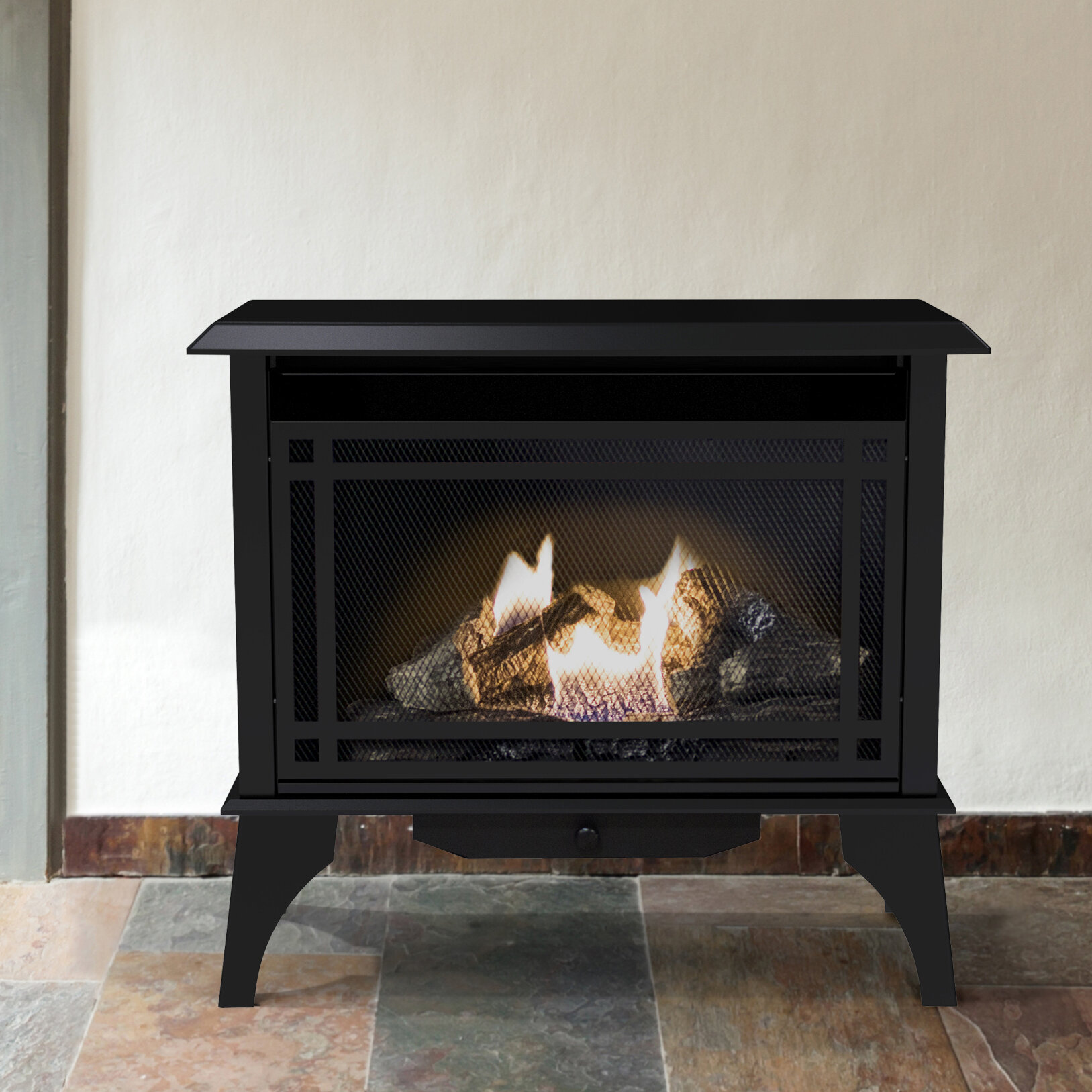 ped rec product vented birchwood vent birch propane heat kozy fireplace gas direct heatwave stove
