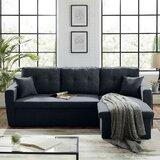 85'' Round Arm Sofa by Latitude Run®