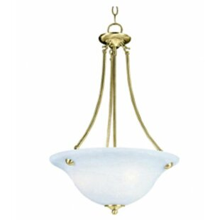 Andover Mills Barrett 3-Light Bowl Pendant