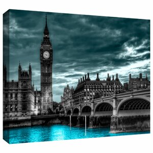 'London' Photographic Print on Wrapped Canvas