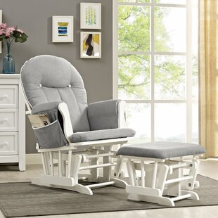West Hill Glider and Ottoman by Viv + Rae