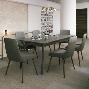 Chelmsford 7 Piece Dining Set by Latitude..