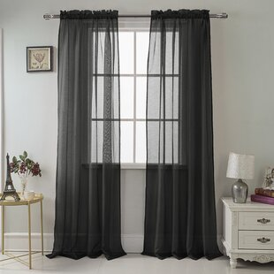 Multiple Sizes 2 Panels Bohemian Curtains Custom Kids Blackout Curtains Playroom Kids Curtains Dyed Solid Black Curtains for Kids