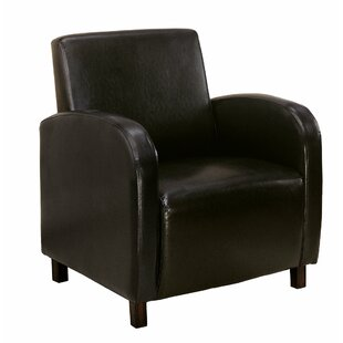 Affordable Club Chair by Monarch Specialties Inc.