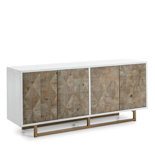 Bedlington Wood And Metal Sideboard By World Menagerie