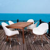 Leszcynski International Home 7 Piece Dining Set