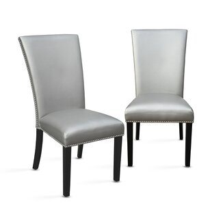 Chaffee Upholstered Dining Chair (Set of 2) Brayden Studio