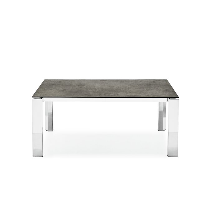 Meacham Ceramic Top Extendable Dining Table