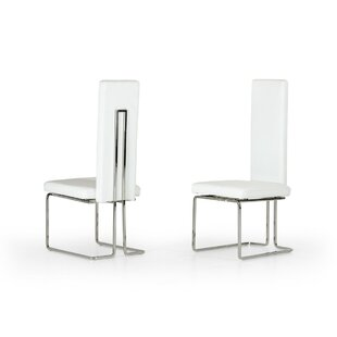Clower Upholstered Dining Chair (Set of 2) by Orren Ellis
