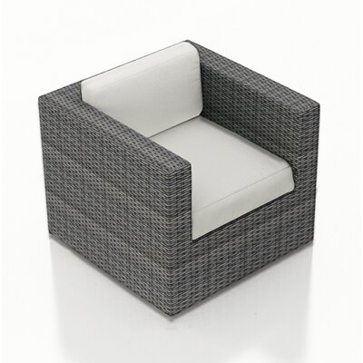 Hobbs Swivel Glider Patio Chair With Cushion Rosecliff