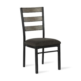Where buy  Comstock Upholstered Dining Chair (Set of 2) by Union Rustic Reviews (2019) & Buyer's Guide