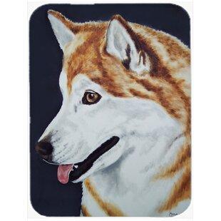 Affordable Siberian Husky Glass Cutting Board ByCaroline's Treasures
