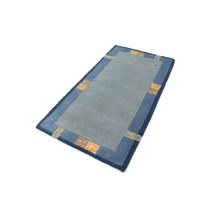 Gamelin Hand Hooked Blue Indoor/Outdoor Rug By Bloomsbury Market