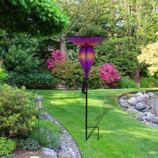 Arnwith Solar Morning Glory Decorative Bird Feeder By Winston Porter