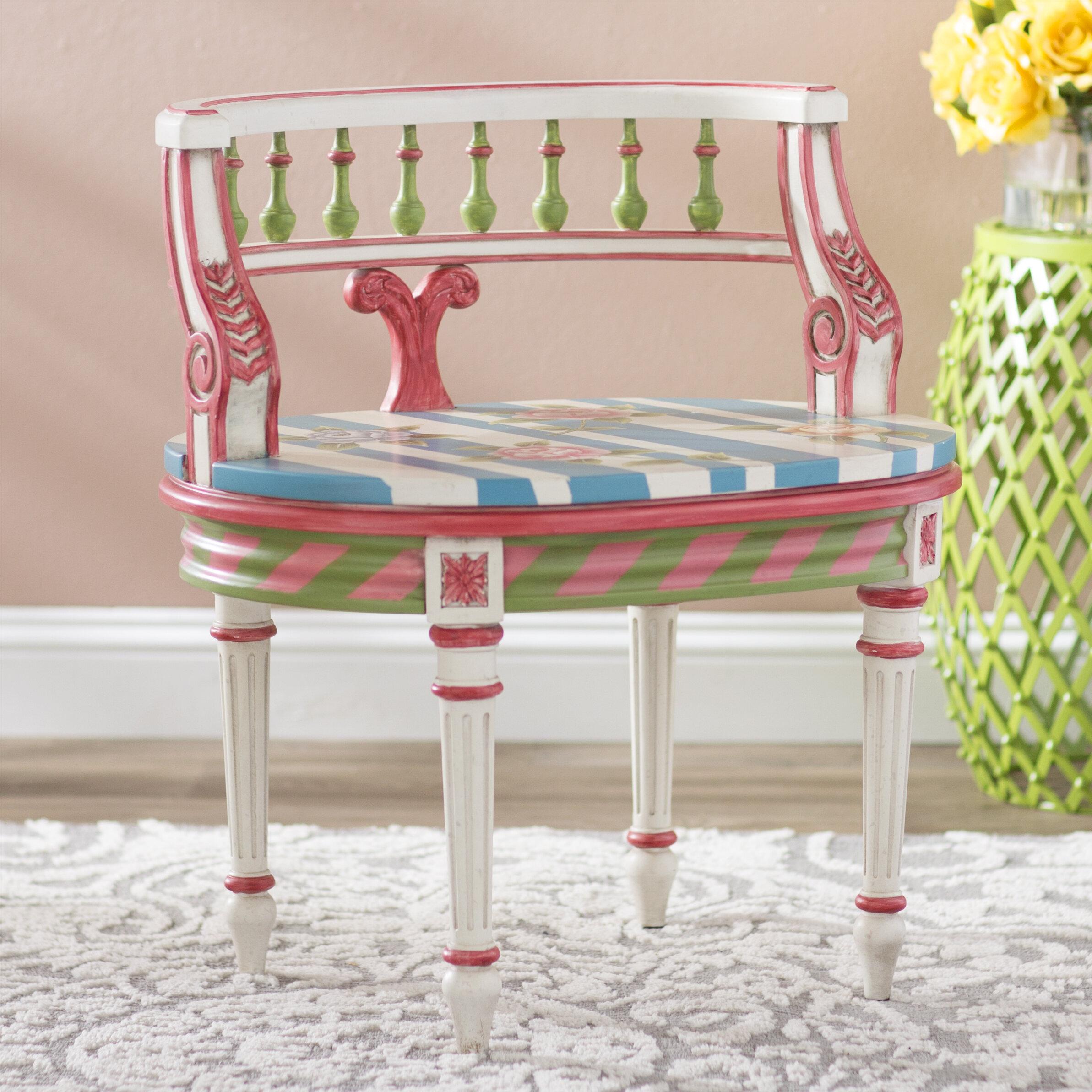 Admirable Olvera Vanity Stool Dailytribune Chair Design For Home Dailytribuneorg