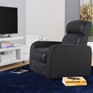 Best Price Home Theater Single Recliner by Latitude Run