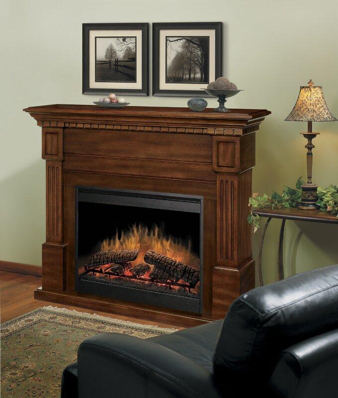 Dimplex Essex Electric Fireplace & Reviews | Wayfair