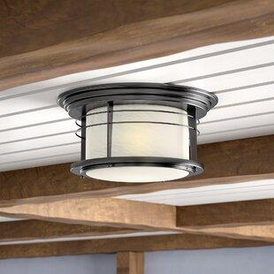 Beachcrest Home Morton 2-Light Flush Mount