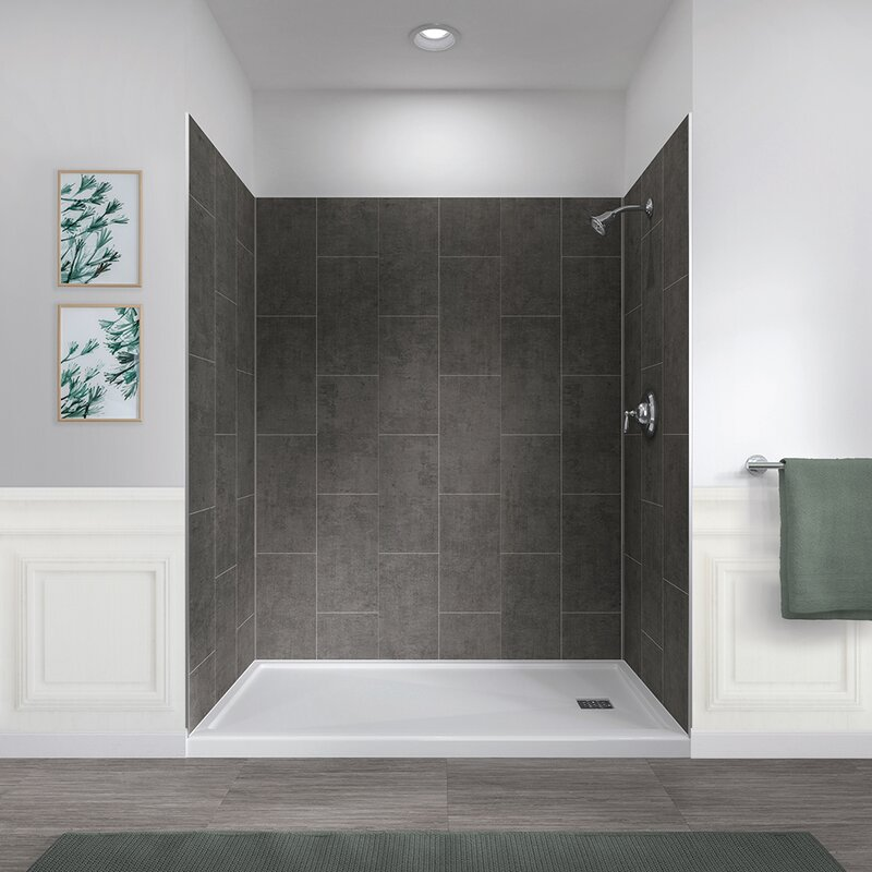 78 X 60 32 Five Panel Shower Wall