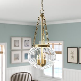 Emrick 3-Light Urn Pendant by Breakwater Bay