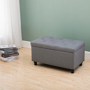 Cassady Rectangular Tufted Storage Ottoman by Ophelia & Co.