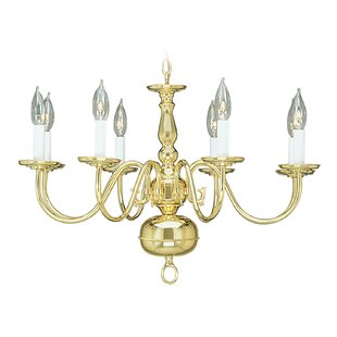Three Posts Allensby 8-Light Chandelier