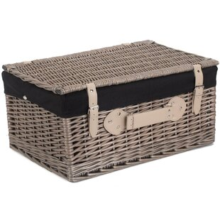 Wicker Picnic Basket By Union Rustic