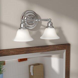 Darmstadt 2-Light Vanity Light By Three Posts