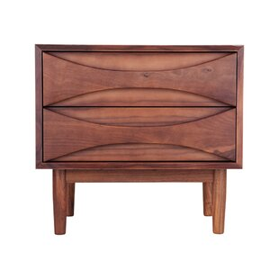 Woodmansee 2 Drawer Nightstand by Corrigan Studio