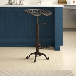 Iceberg Adjustable Height Swivel Bar Stool by Trent Austin Design Best Choices