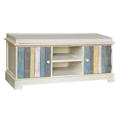 Gallerie Decor Seaside Wood Storage Bench
