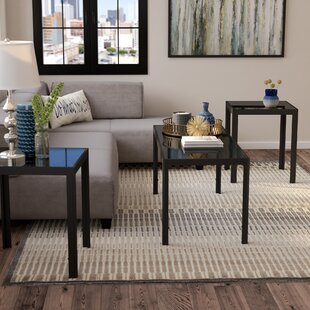 Koah 3 Piece Coffee Table Set Zipcode Design