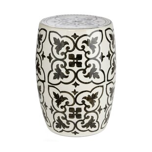 Seabolt Ceramic Garden Stool by World Menagerie