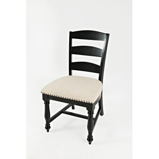 Yarger Ladder Upholstered Dining Chair (Set of 2)