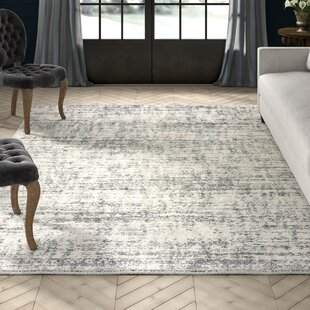 Battlefield Ivory/Gray Indoor/Outdoor Area Rug