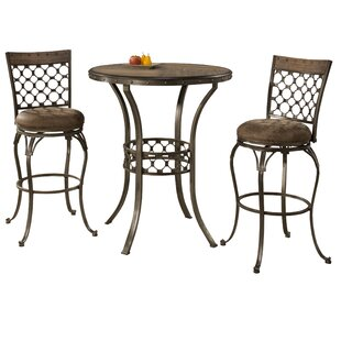 Savoie 3 Piece Pub Table Set b..