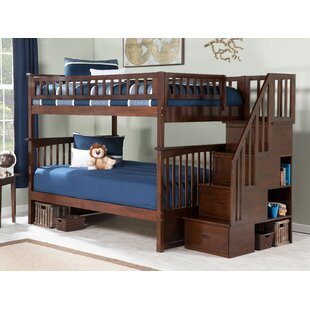 Inexpensive Abel Staircase Full Over Full Bunk Bed by Harriet Bee Reviews (2019) & Buyer's Guide