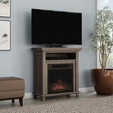 Wagstaff TV Stand for TVs up to 32 with Electric Fireplace Included by Charlton Home®