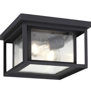 Breno 2-Light Outdoor Flush Mount