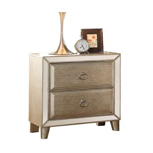 Rosdorf Park Caterina 2 Drawer Nightstand