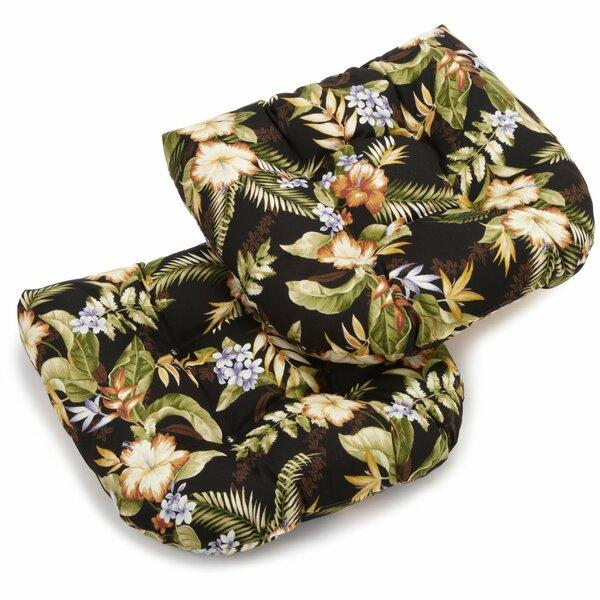 Blazing Needles Freeport Indoor Outdoor Lounge Chair Cushion Reviews Wayfair
