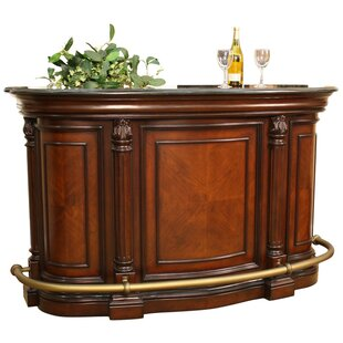Emilio Bar with Wine Storage by American Heritage