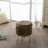 Montano Brown Mink Ottoman by Union Rustic
