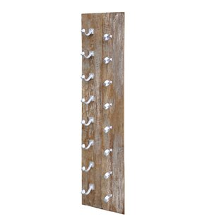 Yuba City 8 Bottle Wall Mounted Wine Rack..